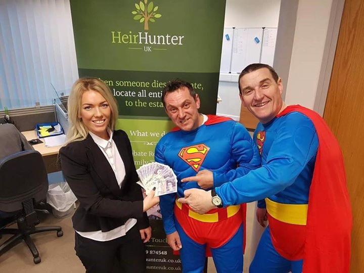 HeirHunter UK donate £250